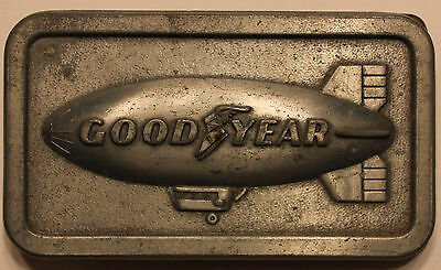 1974 Goodyear Tire   Rubber Co  Blimp Belt Buckle