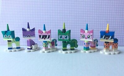 LEGO Mini-figures lot Unikitty Series 1 LOT OF 6 Kitty Minifigures