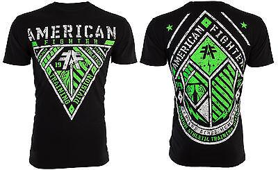 American Fighter Affliction Mens T Shirt Aberdeen Tattoo Biker Gym Mma Ufc  40