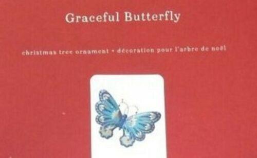 Hallmark Premium Ornament Graceful Butterfly 2019 Metal Edythe Kegrize
