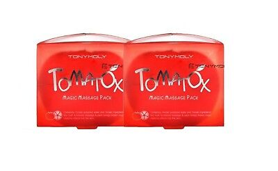 [TONYMOLY] Tomatox Magic White Massage Pack [80g x 2pcs]  -Korea cosmetics