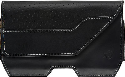 Nite Ize Black Leather Clip Cell Phone Case Executive Holster XLarge EHLXL-17-R3 Executive-holster