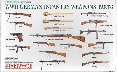Wwii German Infantry Weapons - Dragon WWII German Infantry Weapons Part II in 1/35 3816 ST