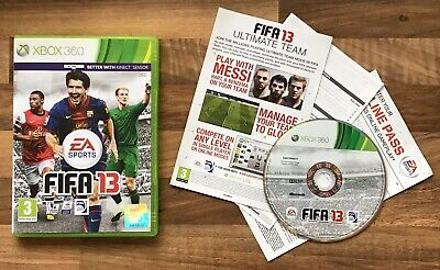 FIFA 13 XBOX 360 SPORTS Game FEDERATION OF INTERNATIONAL FOOTBALL ASSOCIATION for sale  Shipping to Nigeria