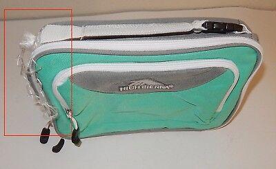 High Sierra Single Compartment Lunch Bag, Aquamarine/Ash/Whi