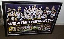NORTH QLD COWBOYS 2015 NRL PREMIERS LIMITED EDITION SPORTS FRAMED Ipswich Ipswich City Preview