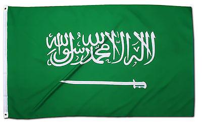 Fahne Saudi Arabien Querformat 90 x 150 saudiarabische Hiss Flagge Natioalflagge