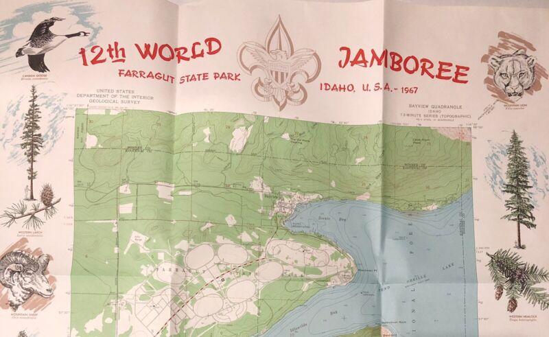 12th World Jamboree Farragut State Park U.S.D.I Geological Survay