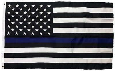 3x5 Thin Blue Line Police Lives Matter on American Flag USA