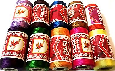 10 Embroidery Spools Sewing Machine Silk Threads best 4