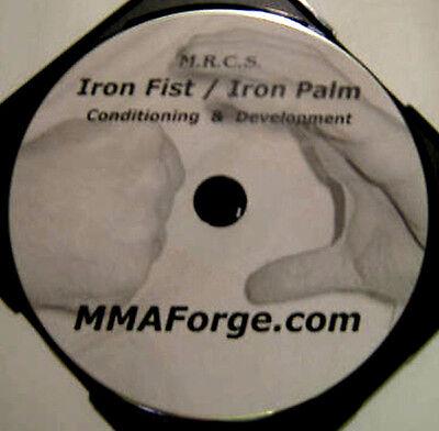 Kung Fu Iron Fist & Palm Training Instructional DVD Shaolin Wing Chun Video
