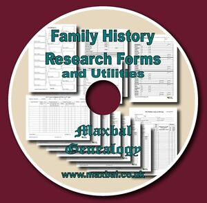 Family-History-Research-Forms-CD-With-Charts-And-Utiliteis
