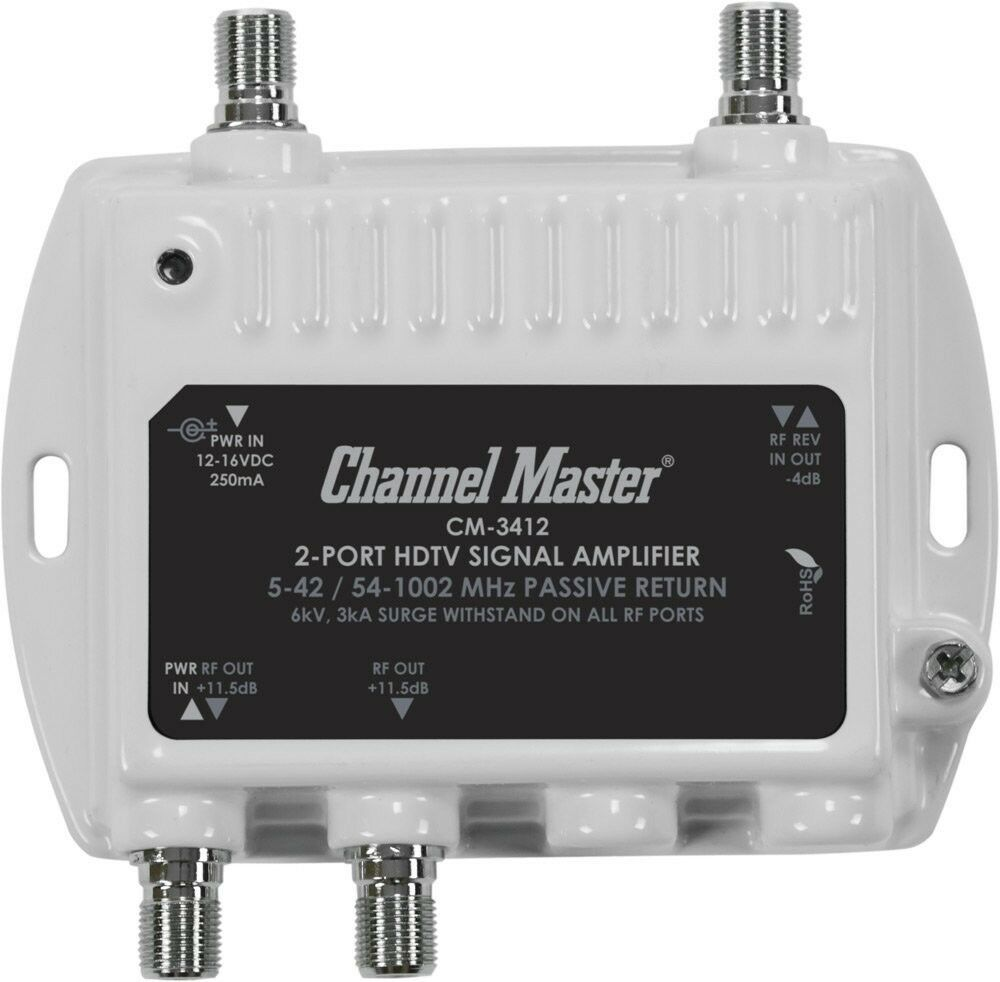 Channel Master Distribution Amplifier