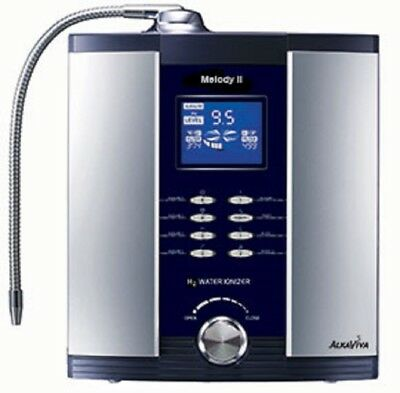 LIGHTLY USEDMelody II (Melody 2)  5-Plate Dual-Filter Water Ionizer by AlkaViva
