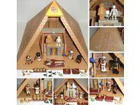 Playmobil Egyptian pyramid complete!!