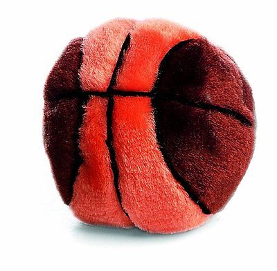 """ETHICAL SPOT PLUSH SPORT BASKETBALL 4.5"""" DOG TOY ASSORTED COLORS FREE SHIP USA"""