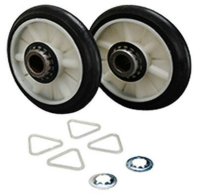 2 Pack 349241T 349241 Dryer Drum Roller Kit For Whirlpool Kenmore Sears New
