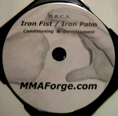 Kung Fu Iron Fist & Palm Training Instructional DVD Shaolin Wing Chun Video