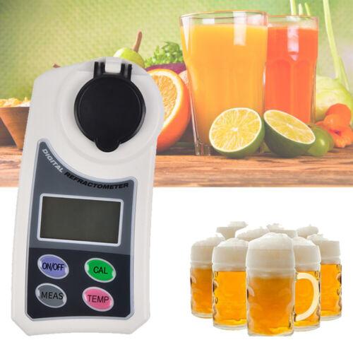 Digital Brix Refractometer Juice Honey Beer Sugar Tester Range 0 to 55%