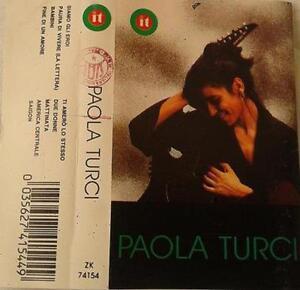Paola Turci - Paola Turci (Cassette) - Italia - Paola Turci - Paola Turci (Cassette) - Italia