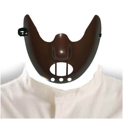 oween Mask Men's fancy dress costume accessories (Hannibal Lecter Maske Halloween)