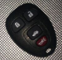 GM remote keyless entry key FOB (15252034)