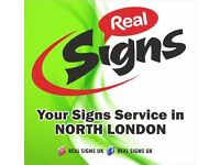 REAL SIGNS is your full service sign center. SIGNS, PRINTING, AWNING, VEHICLE SIGN MAKER, BANNER....