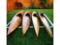 4 vintage kayaks (great condition)