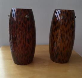 Retro Glass Lampshades mid century modern (2)