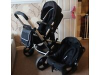 Newborn baby mutifunctional Pushchair Stroller - 3 in 1 - Car Seat