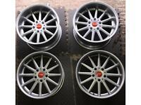 "STAGGERED BMW BBS PITLANES RARE 5x120 17"" 10j e36 e46 e34 e30 alloy wheels"