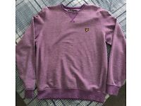 Lyle & Scott Jumper in Purple Size M - £15