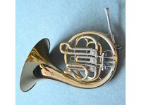John Packer J161 single Bb French horn (Hornblower). Recently reconditioned.