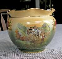 Victorian Jardiniere With Scalloped Edge (Made in England)