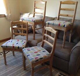 Vintage kitchen or dining chairs