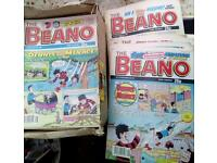 Beano comics 1990- 92.