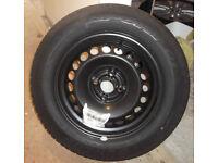 Corsa D spare wheel