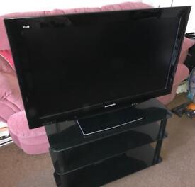 """Panasonic Viera 37"""" LCD TV and stand"""