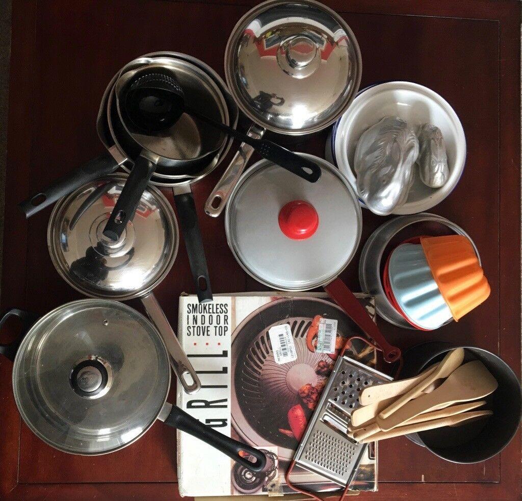 Kitchen Clear Out Joblot Inc Saucepans Smoker Jelly