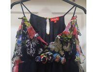 Rene Derhy Designer Maxi Dress   One Size Fits Up To Size 14