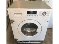A+++ BOSCH NEW MODEL INTEGRATOR WASHER & DRYER 3 MONTH WARRANTY, FREE INSTALLATION