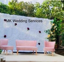 Asian wedding stages, Mehndi decor, tables and house decorations,, marquee hire, furniture hire