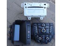 Vauxhall Astra J cd400 radio 2008-2014 head unit ,panel and display