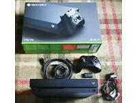 Xbox one x with controller 1 tb