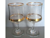 charles and diana embossed goblets