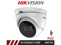 HikVision CCTV Camera 5MP HD 2.8-12mm Motorized Vari-Focal Lens EXIR 40M IR True Day/Night