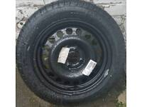Spare 15 inch Wheel with Pirelli Tyre.