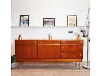 McIntosh Vintage Mid Century Danish Design Medium Teak Retro Sideboard #276