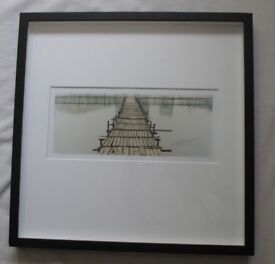 Photographic print by Richard Heeps, limited edition (24 x 30.5cm), framed, signed by artist