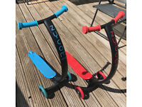 Scooters Zycom Cruz in Blue and Red colour